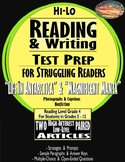 "SBAC READING & WRITING Test Prep & Guide~2 ARTICLES PAIRED~""ANTARCTICA"" & MANTA~"