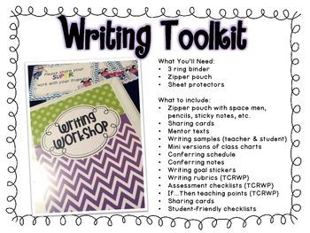 Reading & Writing Toolkit