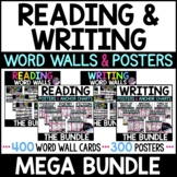 Reading & Writing Visuals Bundle - All Reading and Writing Posters & Word Walls