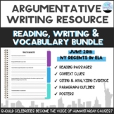 Reading, Writing, Vocabulary Strategies and Posters Bundle