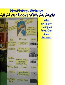 Reading Writing Workshop Non Fiction Mentor Text Chart Strategies