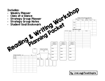 Reading & Writing Workshop Planning Packet
