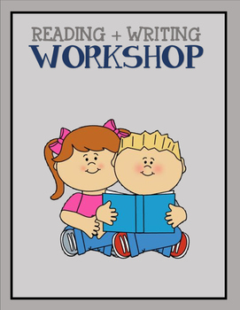 Reading + Writing Workshop {Posters} -- // Blue + Gray //
