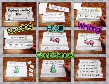 Reading, Writing, and Sentence Scrambles (Sight Word Focus: is)
