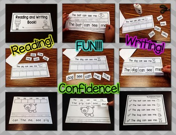 Reading, Writing, and Sentence Scrambles (Sight Word Focus: me)