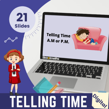 Reading, Writing and Calculating Time - 2nd grade, (UK year 3)