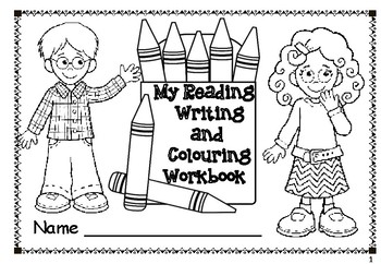 Reading, Writing and Colouring Workbook