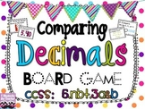 Reading, Writing, and Comparing Decimals Board Game