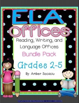 Reading, Writing, and Language Offices BUNDLE Pack
