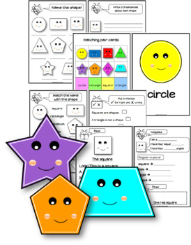 Reading, Writing and Learning about shapes