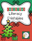 Christmas Literacy Printables for Kindergarten