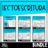 Lectoescritura Reading & Writing in Spanish GROWING BUNDLE