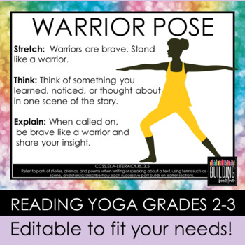 Reading Yoga: Yoga and Kinesthetic Learning with ANY Story or Book K-4