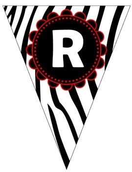 Reading Zebra Banner