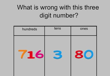 Reading a 3-digit number