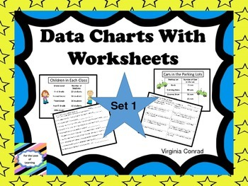 Reading a Chart--Set 1--Charts and Worksheets