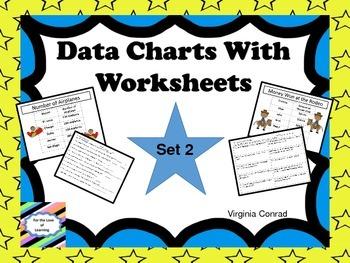 Reading a Chart--Set 2--Charts and Worksheets
