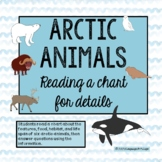 Reading a Chart for Details – Arctic Animals