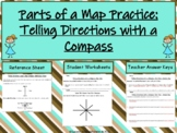Reading a Map Compass (Cardinal and Intermediate Directions: Student Activities)