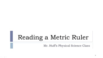 Reading a Metric Ruler - How-To Video