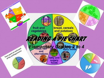 Reading a Pie Chart: Elementary Grades 2 to 4