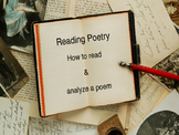 Reading a Poem and Literary Devices