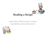 Teach students how to read a recipe