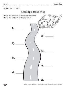 Reading a Road Map