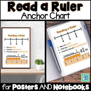 Reading a Ruler Anchor Chart