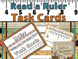 Reading a Ruler Task Cards