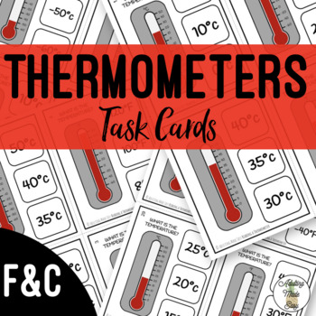 Reading Thermometers Teaching Resources | Teachers Pay Teachers