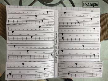 Reading a Triple Beam Balance Foldable