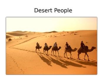Reading a-z Desert People Levels: P, T, W