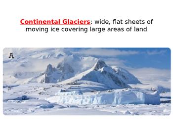 Reading a-z Mighty Glaciers Level M