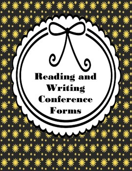Reading and Writing Conference Logs {Freebie}