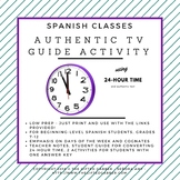 Reading an Authentic TV Guide and Using 24-Hour Time in Spanish Class