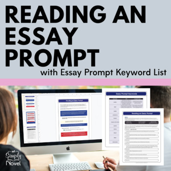 Reading an Essay Prompt {FREE}