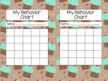 Reading and Behavior Sticker Charts