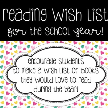 Reading and Book Wish List