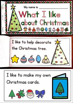 Reading and Coloring Christmas Book