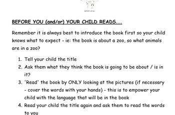 Reading and Comprehension Handy Hints Help / NO PREP HANDOUT