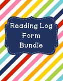 Reading and Comprehension Log **BUNDLE**