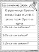 Reading and Comprehension Worksheets