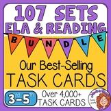 Reading and ELA Massive Task Card Bundle - 102 Task Card Sets!