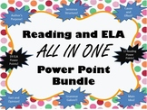 Reading and ELA PowerPoint Set - Growing Bundle