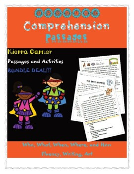 Reading and Fluency Passages Bundle