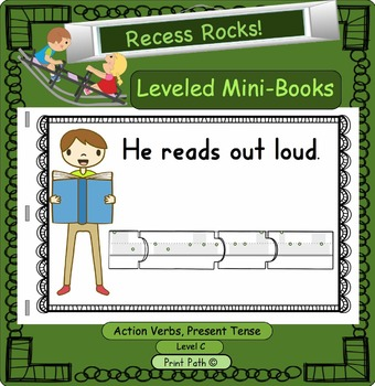 Reading and Handwriting Practice Mini-Book: Hight Frequency Sight Words