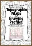Label Contours & Profiles-Lake Topaz Map-MidnightStar