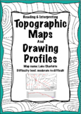 Labeling Contour Lines & Drawing Profiles: Lake Charlotte