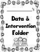 Reading and Intervention Data Folder